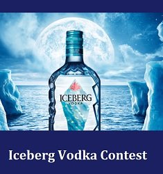 Iceberg Vodka Text To Win Trip to Newfoundland Contest