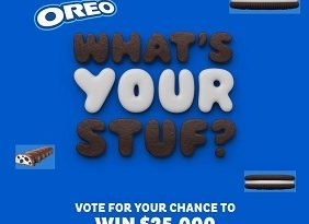 Oreo Contest Whats Your Stuf: Win $25,000 Cash & Oreo Prizes