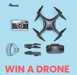 Potensic Drone giveaways Win #potensic #drones #winadrone