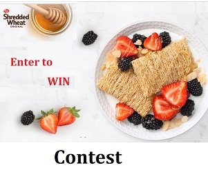 Shredded Wheat Canada Contest enter giveaway at www.shreddedwheat.ca.