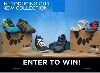 Xero Shoes Sweepstakes Canada & US Giveaways at www.xeroshoes.com