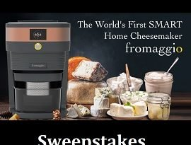 Fromaggio Cheese Maker Giveaway: Win Smart Home Cheesemaker, ($485)