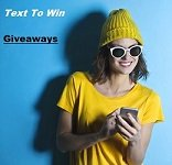 text to win contests and giveaways