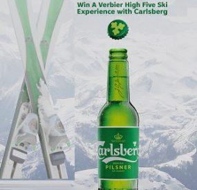 Carlsberg Contest: Win a Trip to Verbier (Swiss Alps)