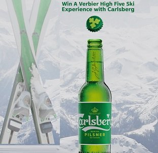 2020 Carlsberg Contest: VERBIER SWISS ALPS Giveaways at winwithcarlsberg.ca