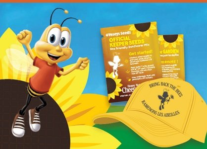order free Cheerios.ca/bringbackthebees sunflower seeds