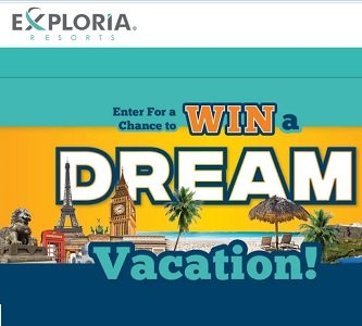 exploria dream vacation giveaway