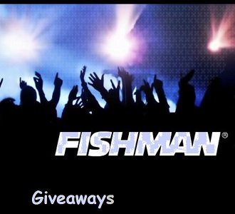 Fishman Music new giveaways