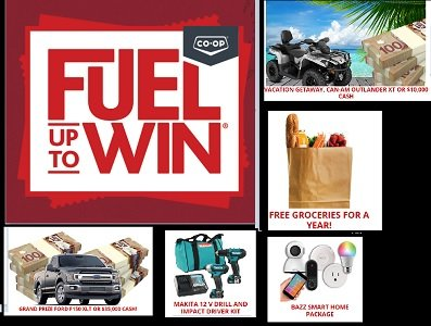 CO-OP Canada 2020 Fuel up to Win game at fueluptowin.ca