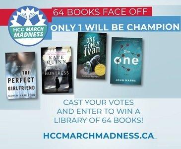 Harper Collins HCCMarchMadness.ca contest