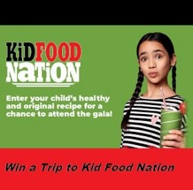 Kid Food Nation YTV Contest: Win Trip to KID FOOD NATION GALA