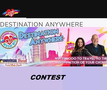 OZFM Contest: Win Destination Anywhere Travel Prize (10,000)