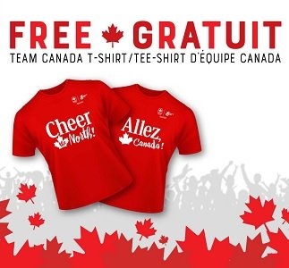 lifemadedelicious free team canada tee shirt promotion