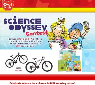 Owl Kids Science Fun Contest The Science Odyssey