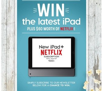 Stokes Stores ipad giveaway