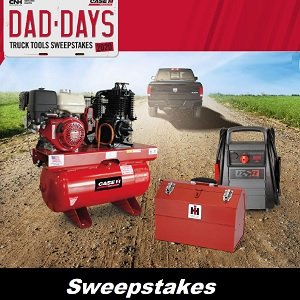 Case IH Sweepstakes for Canada & US 2020 Father's Day Giveaway