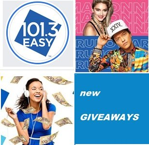 Easy 101.3 Contests - Radio Giveaways at www.easy1013.ca