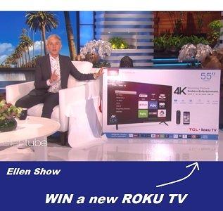 Ellen Halloween Giveaway 2020 Ellen Roku Giveaway: TLC   Win 65'' ROKU TV