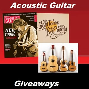 Acoustic Guitar Magazine Contests. Win a free guitar at www.acousticguitar.com