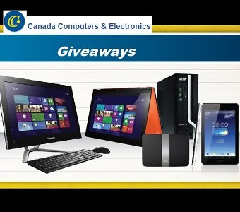 Canada Computers PC Giveaways at www.canadacomputers.com