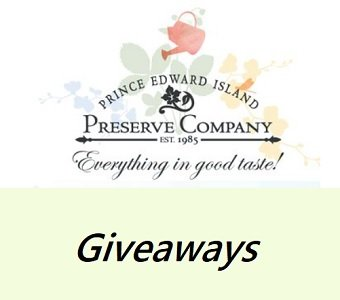 Prince Edward Island Preserve Co. Sweepstakes and  Giveaways at www.preservecompany.com