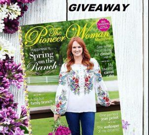 The Pioneer Woman Magazine Contest