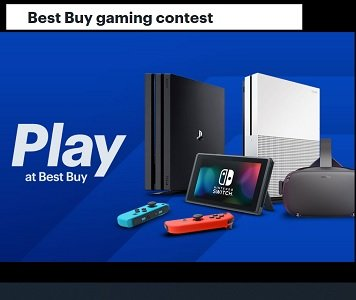 Best Buy Gaming Giveaway: Win PS 4, Nintendo, Xbox, VR & PC Games & Prizes