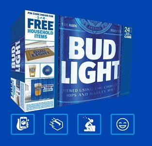 Shopbeergear.ca claim your free Bud Light Home Items while supplies last