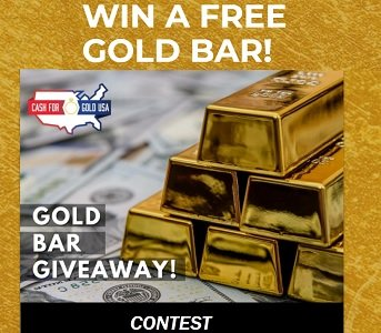 Cash For Gold USA Contest (Canada)  Gold Bar & Coin Giveaways
