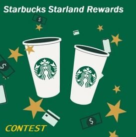 Starbucks Rewards Starland Contest: Play to Win Instant Prizes