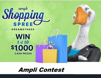 Ampli.CA Dreamstakes Contest: Win 1 of 10 cash prizes, $1,000