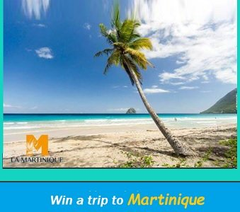 Martinique Vacation giveaways, Win Trip for 2 to Martinique