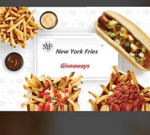 New York Fries Contest: Win Nacho Fries (5 Prizes)