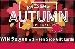 Pharmasave Sweepstakes, Enter to Win $ 2,500 Cash (Fall Giveaway)