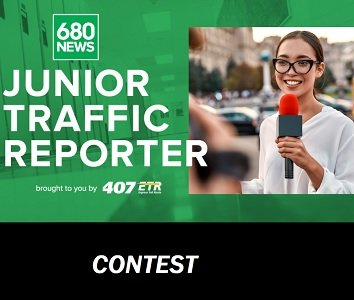 680 NEWS Contests: Become a Junior Traffic Reporter