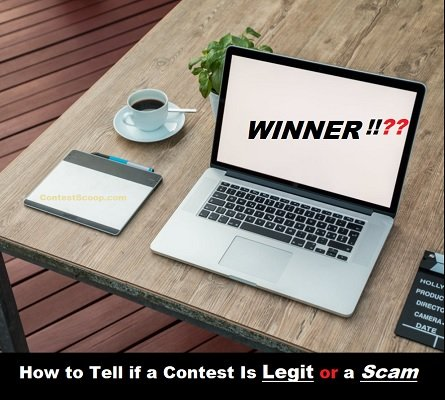 Contest Questions: How to Tell if a Contest Is Legit or a Scam