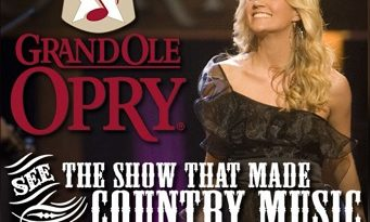 Opry Giveaway: Win a Trip to Nashville & Opry Tickets