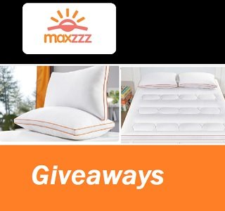 Maxzzz Mattress Contests for Canada & US mattress and pillows Giveaway
