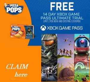 Pizza Pops Game Pass CA: Enter Pins for Free Xbox Access