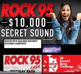 Rock 95 Contests - Giveaways from Rock95.com Radio, Barrie, Ontario