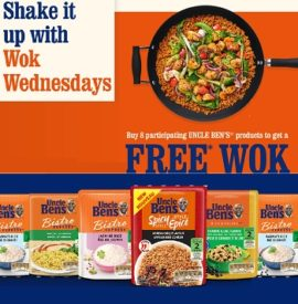 Uncle Bens CA: WOK Wednesday Promotion - Upload Receipt & Order