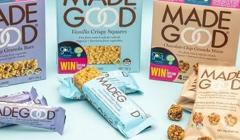 MadeGood Contest: Win a $75 worth of MadeGood crackers