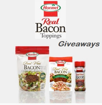 Hormel Bacon Bits Canada Contest  Free HORMEL Real Bacon Bits Giveaways