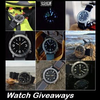 Reduxwatch.com Sweepstakes Win a RDX watch giveaway