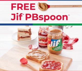 Jif Peanut Butter & Smuckers: Order Free Jif Spoon